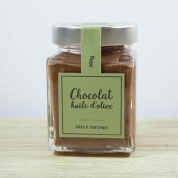 Pâte à tartiner chocolat-noisette à l'huile d'olive de Nîmes